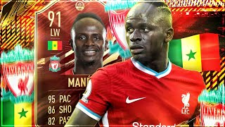 FIFA 21 : FIRST OWNER MANÉ 91 IF SQUAD BUILDER BATTLE !! 😱🔥