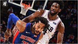Detroit Pistons vs Philadelphia 76ers - Full Game Highlights | October 15, 2019 NBA Preseason