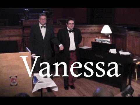 Flanders & Swann at the Sessions House: Vanessa