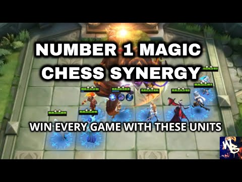 BEST MAGIC CHESS SYNERGY - WIN EVERY GAME - Mobile Legends Bang Bang