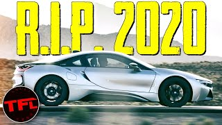 These Are The Top 10 Cars That DIED In 2020...So Far!