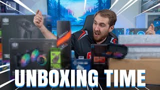 Tech Unboxing Time - So Many Keyboards | EP7