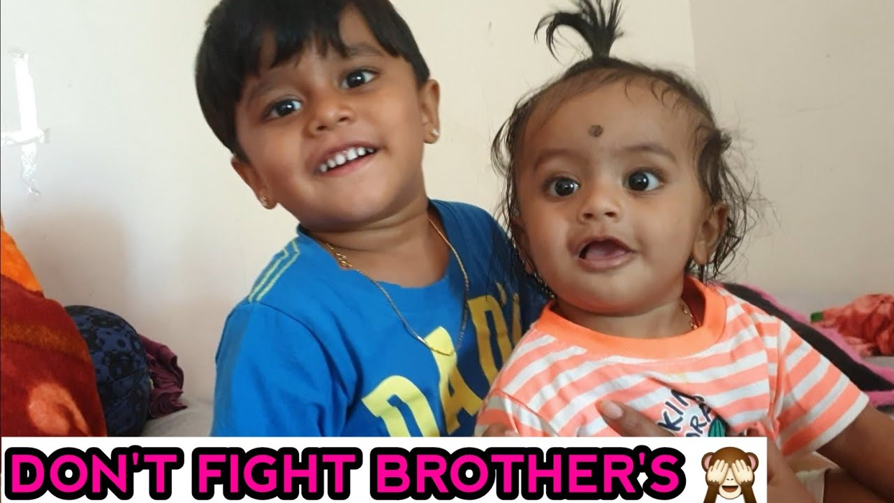 Brothers fighting first time🤣
