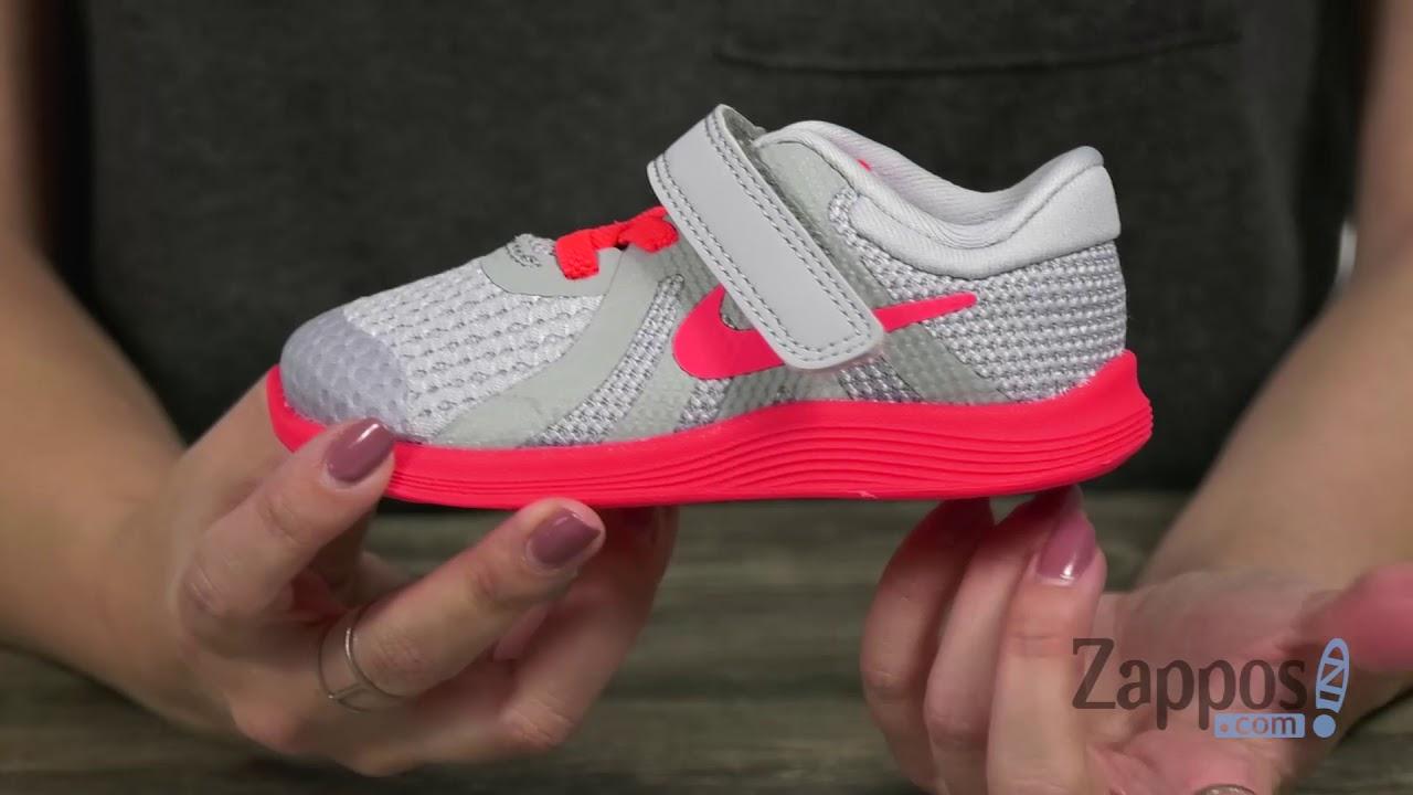 b4d437a738b9 Nike Kids Revolution 4 Fade (Infant Toddler) SKU  9082129. Shop Zappos