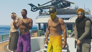GTA 5 SUPER YACHT PARTY: