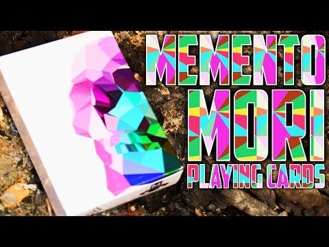 Deck Review - Memento Mori Playing Cards [HD]