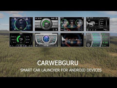 CarWebGuru Smart Car Launcher for Android - Trailer 2