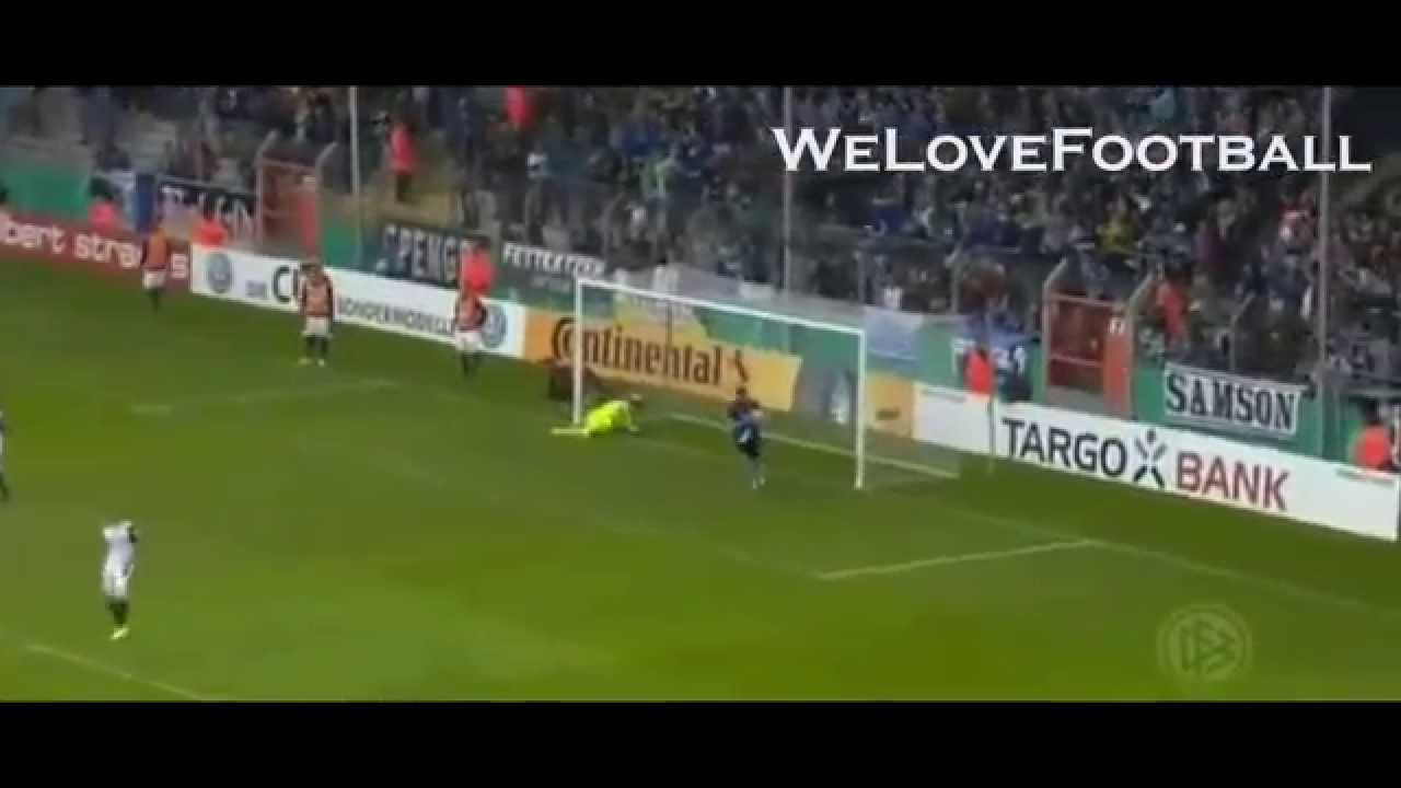 Fabian Klos'dan harika vole golü