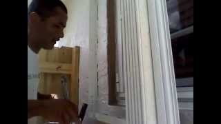 How To Paint Around The A Window Idea