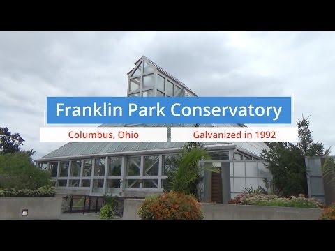 Franklin Park Conservatory Galvanized Steel Study