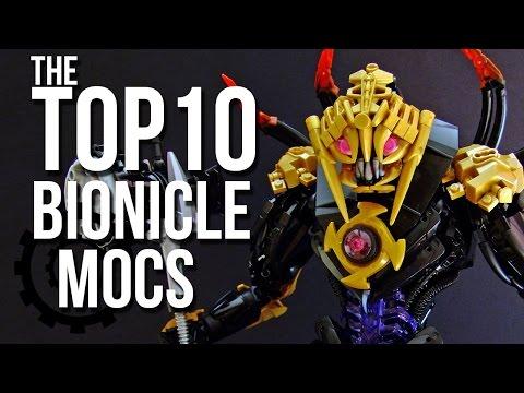 Top 10 BIONICLE MOCs of 2016