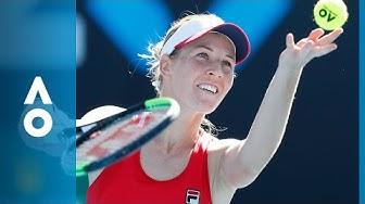 Jaimee Fourlis v Olivia Rogowska match highlights (1R) | Australian Open 2018