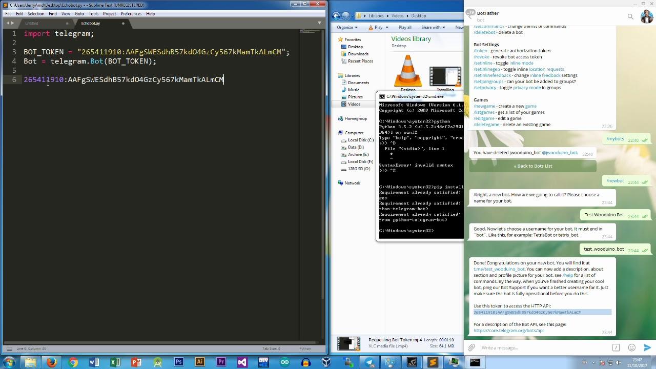 廣東話程式教學15分鐘內編寫Telegram Bot (原聲) - YouTube