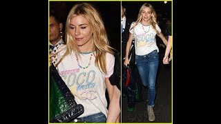 Sienna Miller Steps Out for a Night on the Town in London
