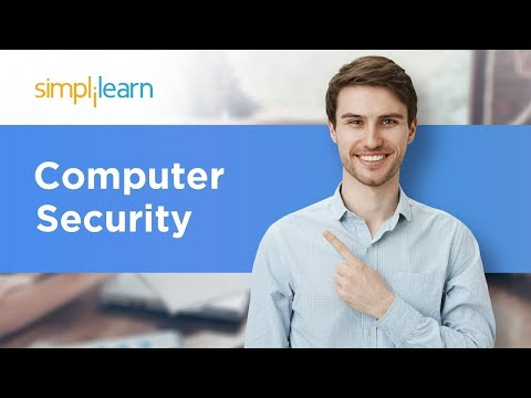 Computer Security | What Is Computer Security And Why Is It Important? | Cyber Security |Simplilearn