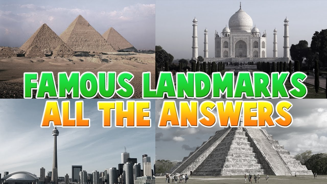 Roblox Guess The Famous Characters Landmark All The Answers