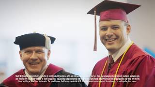 McDonald's: Archways to Opportunity® Program Participant John Cross Life Stage at CTU Graduation