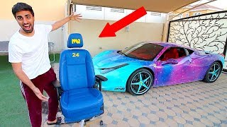 MY NEW $10K DOLLAR FERRARI SEATS ...