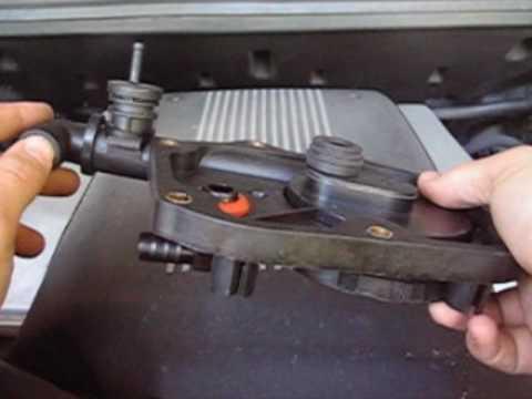 Range Rover MKIII  Replace PCV Valve P1  YouTube