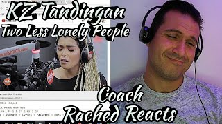 Vocal Coach Reaction & Analysis - KZ Tandingan - Two Less Lonely People In The World - Wish Bus