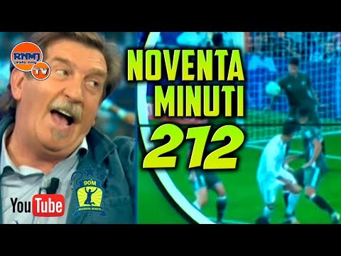 90 MINUTI 212 Real Madrid TV (21/09/2017) HD