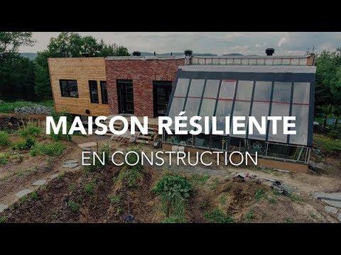 Audacieuse Maison résiliente et serre d'abondance [VISITE] - YouTube BB-74