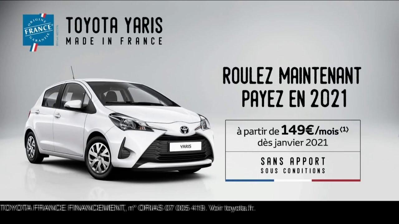 """Toyota Yaris Made in France """"le 1er truc que j'fais après le confinement"""" Pub 30s"""