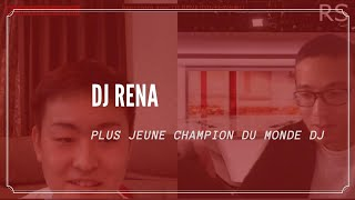 RENCONTRE AVEC DJ RENA: CHAMPION DU MONDE DJ/ DJレナとの出会い:ワールドDJチャンピオン