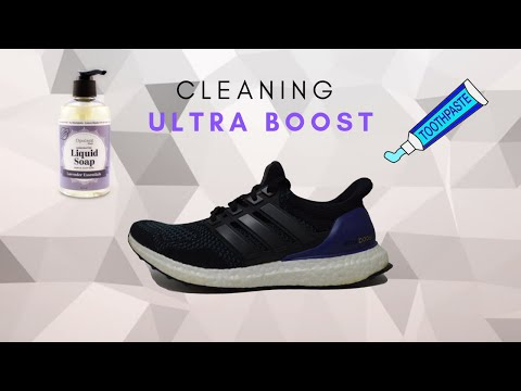 How to clean ultra boost with household items