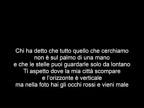Cesare Cremonini - Buon Viaggio (Share the love) (Lyrics)