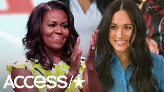 Michelle Obama Raves About Meghan Markle: She's 'Breaking The Mold'