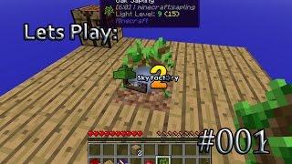 Lets Play: Minecraft: Sky Factory! Episode: 001, Eine eigene Insel!
