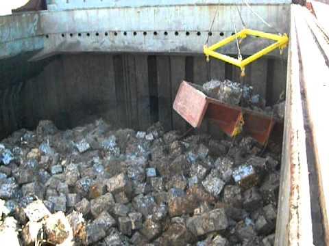 Scrap Material Loading