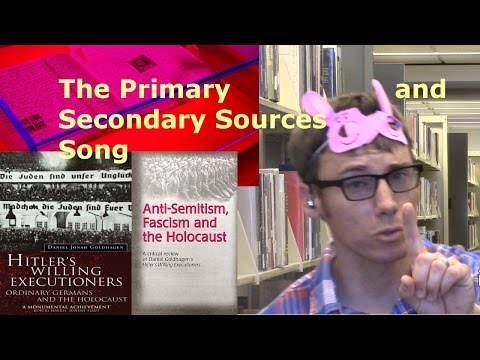 The Primary and Secondary Sources Song