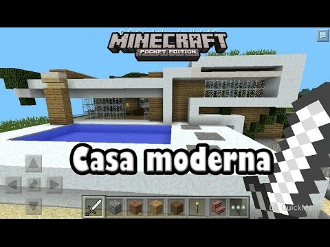 Descarga casa moderna para minecraft pe alpha youtube for Casa moderna minecraft 0 10 4