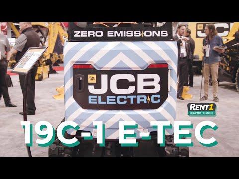 An Electric Mini-excavator? Next-gen Heavy Equipment Built By JCB @ ARA Show 2019 - Www.Rent1.ca