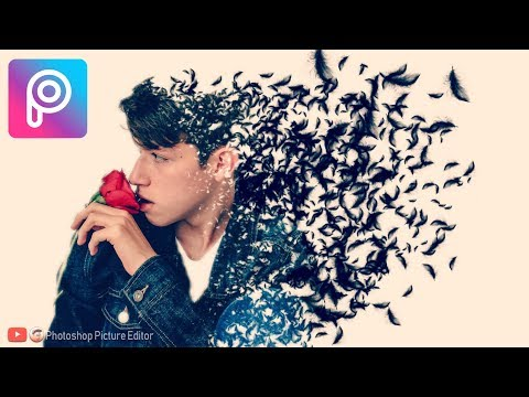 PicsArt Tutorial: Feather Dispersion Effects