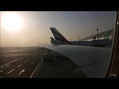 Emirates  |  EK161  |  A6-ENT  |  777-300ER  |  Dubai - Dublin  |  Full Flight  HD