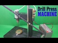 How To Make Powerful Drill Press 12volt With 775 Motor
