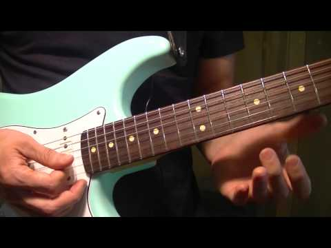 """Funk Guitar Lesson - Intro To """"You Got The Love"""" By Rufus And Chaka Khan"""