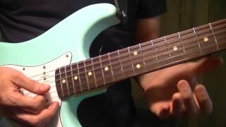 "Funk Guitar Lesson - Intro to ""You Got The Love"" by Rufus and Chaka Khan"