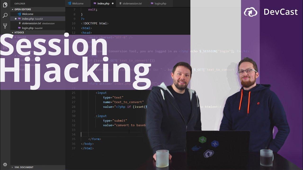 Session Hijacking in PhpStorm - DevCast #1