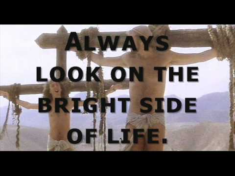 Always Look On The Bright Side Of Life Lyrics Youtube
