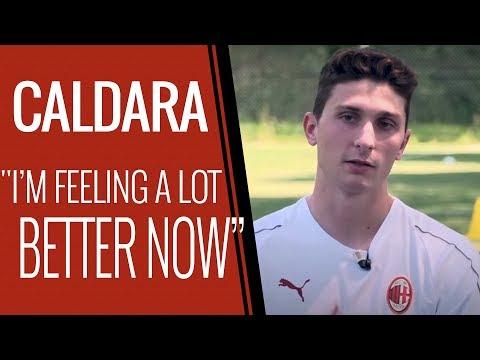 """Caldara: """"The worst is behind me"""""""