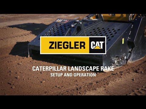Cat® Landscape Rake Attachment