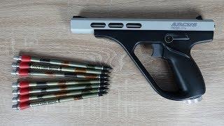 Die stärkste Co2 Pistole der WELT! - Arcus Viper 34 Joule Unboxing und Outdoor Schuss Test