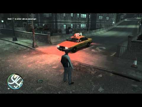 วิธีขึ้นรถแท็กซี่ฟรี [GTA IV]