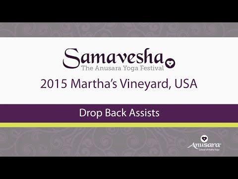 Anusara® Yoga Drop Back Assists
