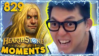 WHAT? That's Not A BUFF Card! | Hearthstone Daily Moments Ep.829