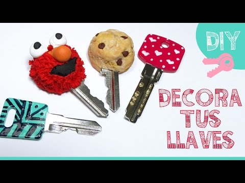 DIY PERSONALIZA TUS LLAVES | How to use Polymer Clay ♥ Qué cositas